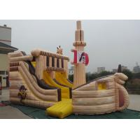 China Pirate Ship Shaped Inflatable Outdoor Toys Quadruple Stitching OEM Accepted wholesale