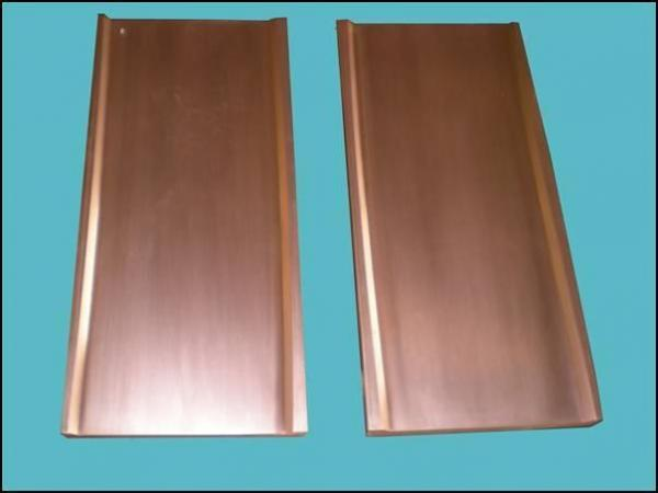 copper mould plate for continuous cating mach