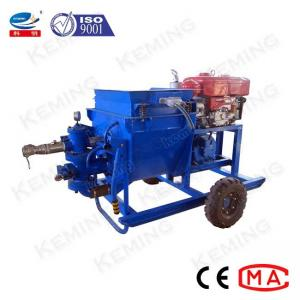 China Multiatage Mining Mortar Grout Pump With Diesel Engine Driven wholesale