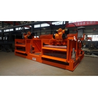 China High Processing Capacity Dual Deck Shale Shaker with Famous Brand Vibrating Motor on sale