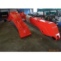 China 18 M Doosan DX300 Excavator Long Reach Boom With 0.5 Cum Bucket / Auxiliary Pipe wholesale