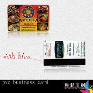 China Plastic PVC Mag Stripe Cards wholesale