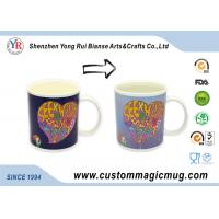 Ceramic Heat Reactive Mugs , Christmas Gift Personalised Magic Mugs