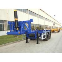 2 Axles 20ft Flatbed Container Trailer Truck Container Dump Trailer