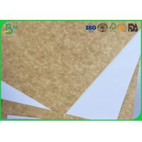 China 120gsm - 200gsm Coated White Top Liner Paper Water Resistant For Magazine Printing on sale