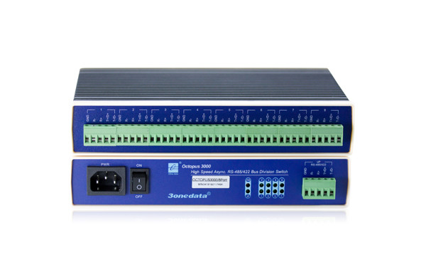 Quality High Performance Isolation RS-485/422 BUS Division Concentrator for sale