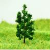 D4316 Train Layout Miniature Model Trees Avenue Deep Green Metal Wire Tree 4.3cm