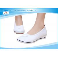 White Anti - bacterial Operating Room Footwear for Comfortable Medical Nurse Shoes