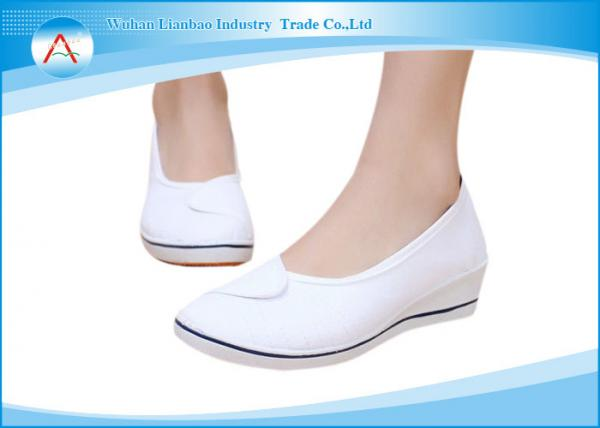Quality White Anti - bacterial Operating Room Footwear for Comfortable Medical Nurse Shoes for sale
