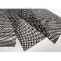 Buy cheap 12mesh 30m Length Woven Wire Mesh , Decorative Woven Wire Mesh For Windows from wholesalers