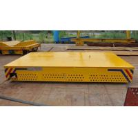 China Industries Steel Turning Rail Transfer Cart Long Dip Pipe With Remote Box wholesale