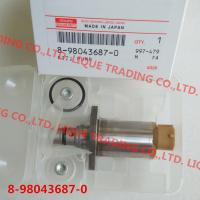 China DENSO  8-98043687-0 genuine Fuel Pressure Regulator / suction valve SCV 8980436870 / 294200-0650 /  2942000650 on sale