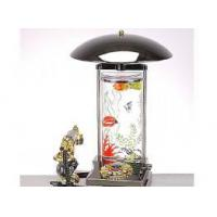 China Craft Table Lamp with Water Column on sale