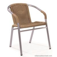 China LJC001 Hight quality aluminum rattan dining furniture chairs wholesale