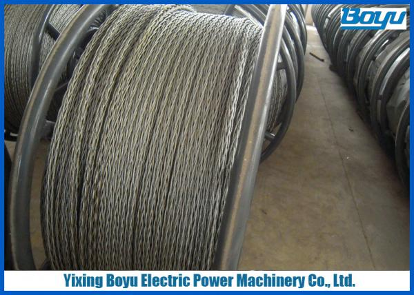 Quality Load 360kN Overhead Line Stringing Pilot Rope 24mm Anti - twisting Breaking for sale