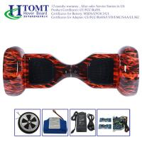 China Auto Red Flame Self Balancing Electric Scooter Drifting Board Waterproof wholesale