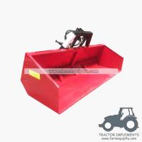 5HTB-Hydraulic tipping link box metal transport box - 5ft