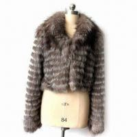China Fashionable Garment for Women, Made of Fur, Available in Various Colors, Sizes and Designs wholesale