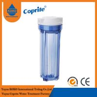 China Clear Pp Double O Ring Water Filtration Housing 10 Inch RO Filter Housing wholesale