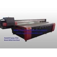 China High Speed MDF Board Wood Printing Machine Double Lead Screw Driving System wholesale