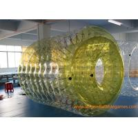 China 2.7*2.4*1.8M Adults Inflatable Wate Roller , Inflatable Water Games Ball Toys with CE wholesale