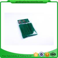 China Luster Leaf Twist Garden Plant Ties Strips Green Color ISO 9001 Approved wholesale