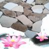 China 12x12 inch! natural marble paving stone mosaic wholesale