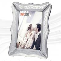 China Stylish Glass Mirror Photo Frame With Environmental Protection Paper Back Board wholesale