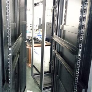Quality Server rack used 4 Post low profile adjustable rails for 1000mm depth network for sale