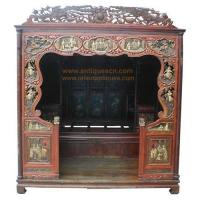 China B-041p1a Chinese furniture, antique marriage room bed, bedroom furnishing wholesale