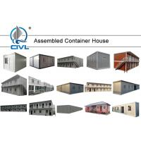 China Luxury Prefab Shipping Container Homes , Modern Container Design Cases Villa Tow House white colorme wholesale