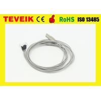 China EEG Medical Cable TPU Material Gray Color DIN 1.5mm One Meters Length wholesale