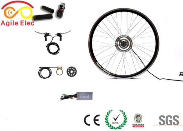 Quality Good Looking Mountain Bike Motor Conversion Kit Reduce Energy Consumption for sale