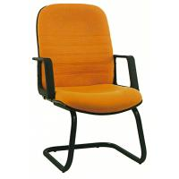 China Pretty Student Computer Chairs , Fabric Office Desk Chairs Without Wheels wholesale