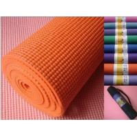 China Beautiful Anti Slip Pvc Exercise Fitness Yoga Mats , Recycled And Unique wholesale