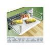 China Sturdy Steel Modular Kitchen Accessories Rustproof Muti - Functional wholesale