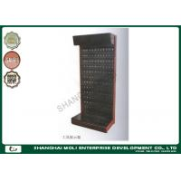 China Peg board hooks hanging tool storage rack steel metal display stand for Retail store wholesale