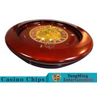 China Deluxe Solid Wooden Roulette Wheel Game Difficult To DeformationFor Casino wholesale