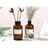 China Machine Made Glass Brown Bottle Decorative Glass Vases For Flower / Ins Popular wholesale