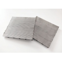 China 3*4mm Profile Wire Screen , 70 Micron Stainless Steel Screen For Fresh Water wholesale