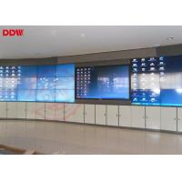 China Circle 55 Curved Video Wall 500 Nits Brightness LED Backlight RS232 Input Output wholesale