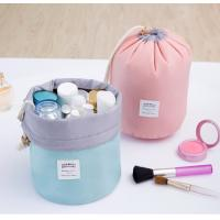 Multi Purpose Cylinder Makeup Pouch Toiletry Pouch Storage Organizer Pouch Travel Drawstring Bag With Multi-Pockets