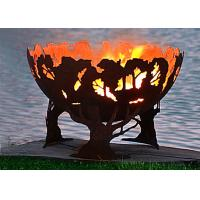 China Fashionable Design Corten Steel Fire Pit Bowl Superior Corrosion Resistance wholesale