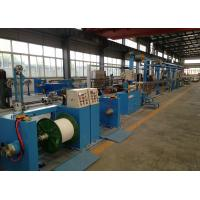 China Sky Blue Plastic Extrusion Line , electrical wire making machine 500Rpm Max Speed wholesale