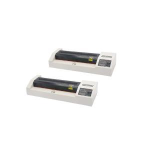 China 330 Leds Hot / Cold Laminator Machine , Roller Dia25mm A3 Paper Lamination Machine on sale