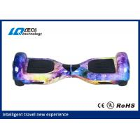 China Standing Fashion Electric 6.5 Inch Hoverboard 30 Degree Climbing Gradient wholesale
