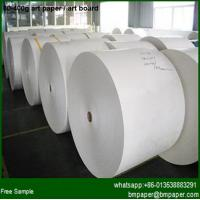 China Coated Double Side Art Paper 105 115gsm wholesale