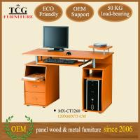 China TCG classic wooden modern computer desk wholesale