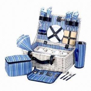 China Picnic Basket, Measures 30 x 21 x 34cm wholesale