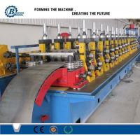China High Speed Road 2 / 3 Waves Guardrail Roll Forming Machine With Roof Panel wholesale